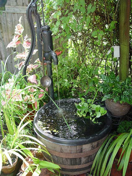 Container water gardens preen water pump container workwithnaturefo