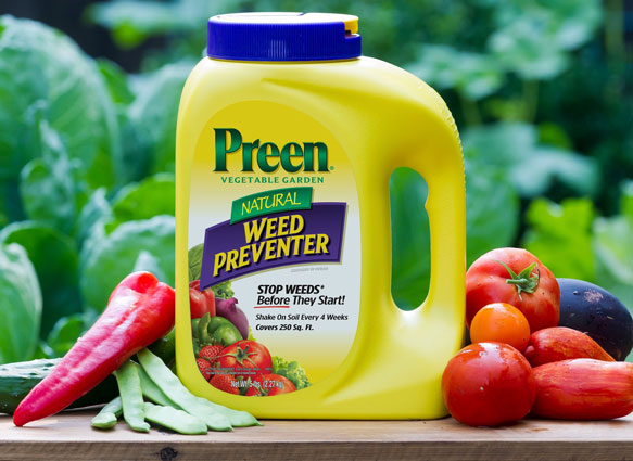 Preen Natural Vegetable Garden Weed Preventer