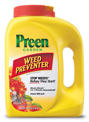 Preen Garden Weed Preventer Grass Weed Killer Alternative Preen