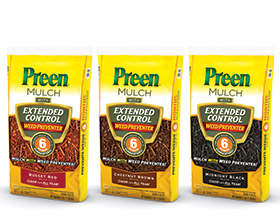 Preen Mulch with Extended Control Weed Preventer • Preen